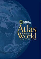 National Geographic Atlas of the World, Eighth Edition (8th 2004) HC (LARGE)