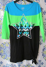 GIRLS SIZE 12 JUSTICE DRESS / TUNIC TOP
