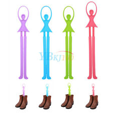 Useful Home Plastic Boots Ballet Scalable Shoes Upright Stand Holder Rack Holder