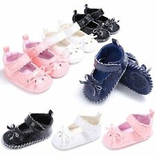 New Lovely Newborn Baby Girl Summer Shoes Soft Sole Sandals PU Leather Anti-Slip