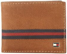 Tommy Hilfiger Mens Yale Passcase Billfold Wallet with Removable Card Holder