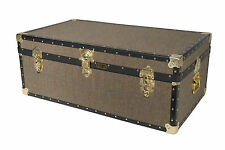 British Mossman Made Traditional New HARRIS TWEED Cabin Luggage - Storage Trunks