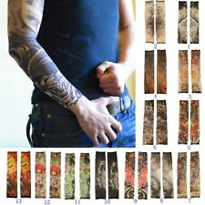 New Outdoor Fishing Cycling Bicycle Sports Tattoo UV Protection Rock Arm Sleeves