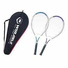 WIN.MAX Single Strung Aluminum Tennis Racket with Free Carrying Bag