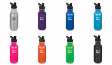 Klean Kanteen Classic Stainless Steel Bottle With Sport Cap, 3 Sizes, 10 Colors