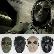 Tactical Combat Army Hunting Skull Full Face Airsoft Protector Mask Halloween
