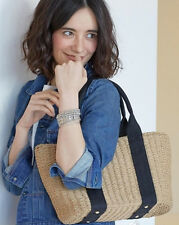 Hot Selling Womens Straw Weave Knit Bag Casual Large Capacity Shoulder Bags Chic