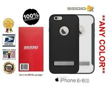 Seidio INTEGO Case (w Kickstand) for the Apple iPhone 6/6s **ALL COLORS**