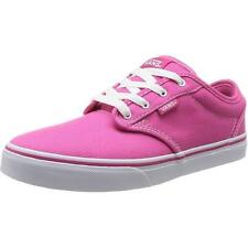 Vans Atwood Youth Magenta Textile Trainers