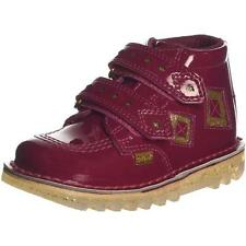 Kickers Kick Diamond Infant Dark Red Patent Ankle Boots
