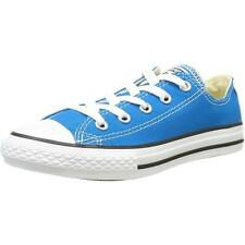 Converse Chuck Taylor All Star Junior Cyan Space Textile Trainers