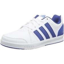 Adidas LK Trainer 7 Junior White/Eqt Blue Synthetic Trainers