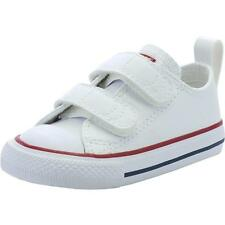 Converse Chuck Taylor All Star 2V Infant Optical White Leather Trainers