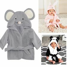 Soft Warm Kids Baby Boy Girl Night Bath Robe Sleepwear Homewear Pajamas Clothing
