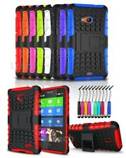 Sony Xperia X Shockproof Heavy Duty Tough Case Stand & Mini Pen