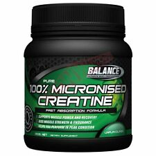 Balance Sports Nutrition MICRONISED CREATINE MONOHYDRATE*AUS Brand- 250g Or 500g