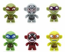 Kinder Teenage Mutant Ninja Turtles TMNT Twistheads Keyring Figures