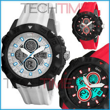 OCEANIC – Unisex Sports Watch, Multifunction, Digital + Analog, WR100M