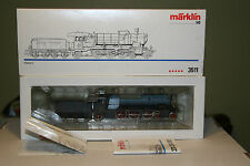 HO Scale Marklin Steam Locomotive Class C Type 4- 6- 2 No.3511