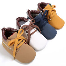 Newborn Baby Soft Sole Suede Shoes Infant Girl Boy Toddler Anti-Slip Prewalker