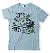 420 Marijuana Weed Cannabis T-shirt Smoking Tee Shirt Funny Tee