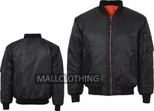 MA1 Mens Army Pilot Biker Bomber Fly Military Original Security  Jacket Coat MA