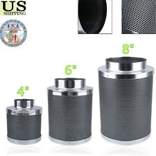 """4"""" 6"""" 8""""  Inch Carbon Filter Coconut Shell Activated Charcoal Air Filter New W"""