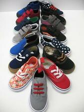 VANS Boys Girls Casual Walking Summer Shoes BABY / TODDLER SIZE 5 Choose Color