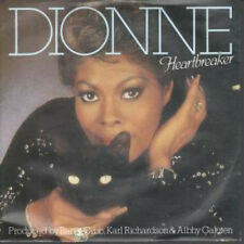 "DIONNE WARWICK Heartbreaker 7"" VINYL UK Arista 1982 B/w I Can't See Anything"