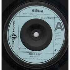"HEATWAVE Boogie Nights 7"" VINYL UK Gto 1976 B/W All You Do Is Dial (Gt77)"