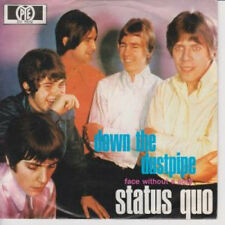 "STATUS QUO Down The Dustpipe 7"" VINYL German Pye 1970 B/W Face Without A Soul"