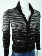 Armani Exchange A|X Mens Ombre Striped Knit Cardigan Buttoned Sweater NWT $120