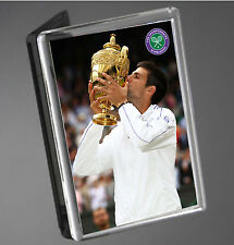Novak Djokovic Wimbledon 2015 Champion Tennis Fridge Magnet