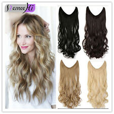 "Long20-24"" Hot Remy 100% Human Hair Invisible Wire Secret Human Hair Extension"
