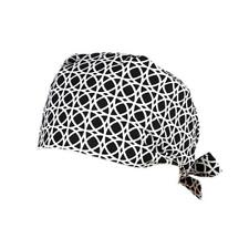 Unisex Doctor Nurses Printing Scrub Cap Medical Surgical Surgery Hat Lace Up