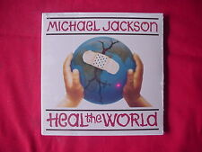 CD MICHAEL JACKSON HEAL THE WORLD NEW UNOPENED STILL SEALED