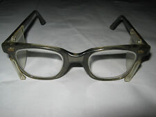 VINTAGE RETRO INDUSTRIAL ENGINEERS SAFETY GLASSES PROP 50's ,60's