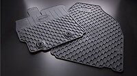 2011 2012 2013 SCION TC FLOOR MATS ALL WEATHER RUBBER MATS TOYOTA OEM BLACK 4PC