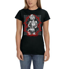 Marilyn Monroe Sexy Cowgirl Country Girl Cowboy Hat Womens T-Shirt Tee