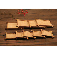 Set of 6 Bamboo Tea Coffee Cup Mats Mug Bowl Insulation Pads Coasters Holder