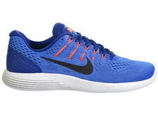 NEW MENS NIKE LUNARGLIDE 8 RUNNING SHOES TRAINERS MEDIUM BLUE / DEEP ROYAL BLUE