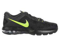NEW MENS NIKE AIR MAX FULL RIDE TR 1.5 RUNNING SHOES TRAINERS BLACK / VOLT