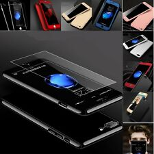 Shockproof Case Tempered Glass Screen Protector for iPhone 5 5S 6 6S 7 Plus