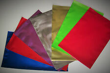 10 C5 (162 x 229mm) coloured foil envelopes/mailers, Super shining bright finish
