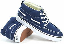 Vans Off The Wall Sneakers Shoes Trainers Blue White UK 11.5 BNWT BN SIGNED POST