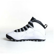 2013 Nike Air Jordan Retro X 10 Steel White Black 310806-103