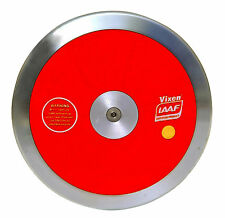 VIXEN Hi Spin Competition Discus in Red, Throw Sporting Goods