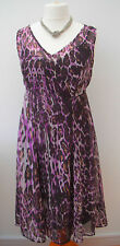 NEW M&S Per Una chiffon animal print empire line dress~10-12-14-16-20