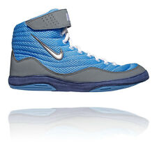 NIKE INFLICT 3 MENS WRESTLING SHOES BLUE / WHITE COOL GREY / MIDNIGHT NAVY