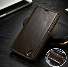 Leather Magnetic Wallet Case Flip Card Stand Cover Samsung Galaxy A3 A5 A7(2017)